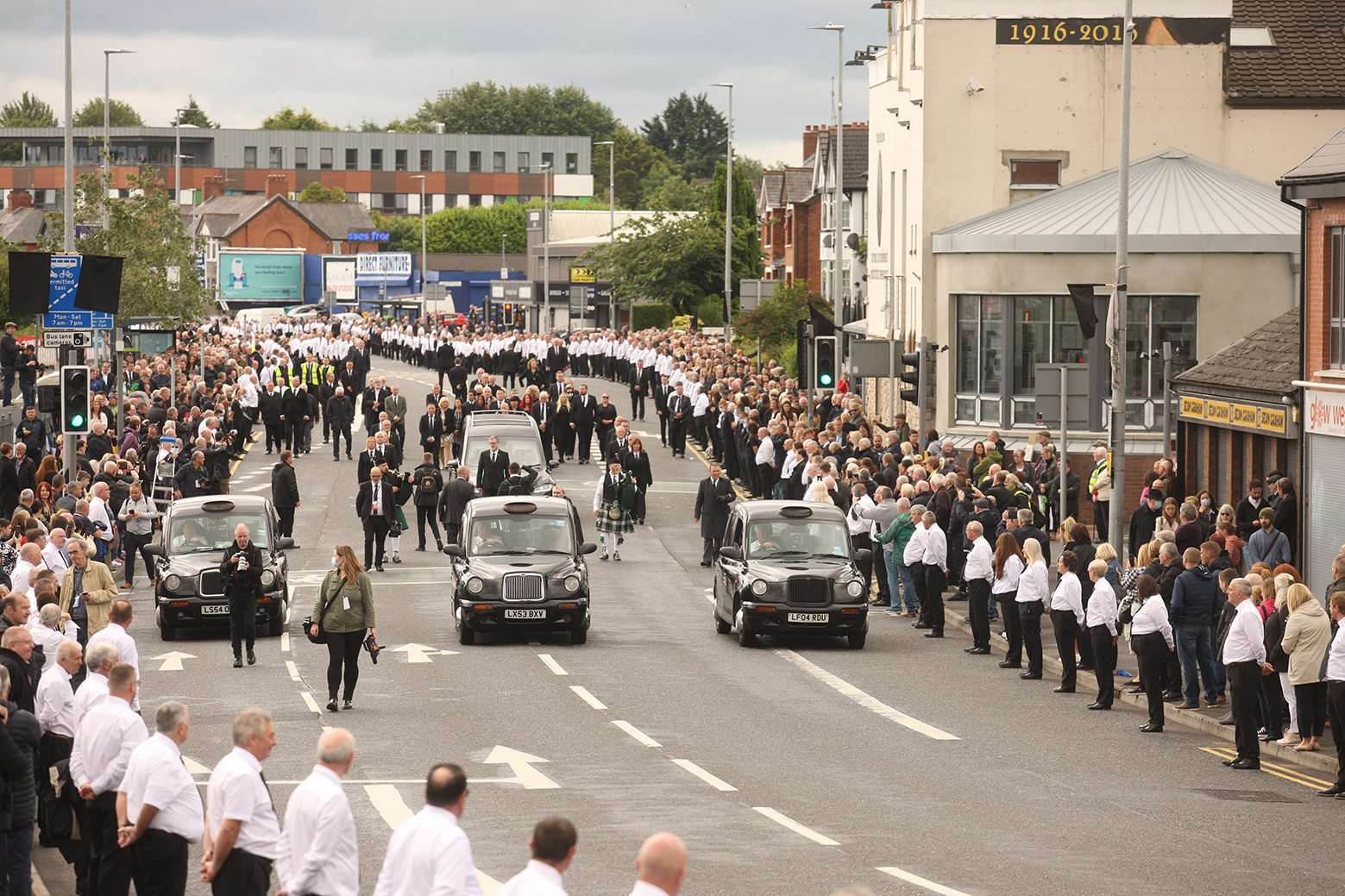 """BOBBY STOREY FUNERAL: \""""It is time for the Executive to put the matter behind it and resume the vital job of protecting us from the pandemic.\"""""""
