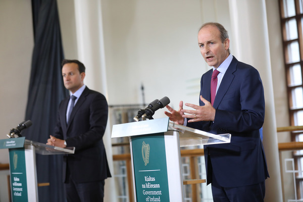 No fee taoiseach post cabinet press briefing jb3 2