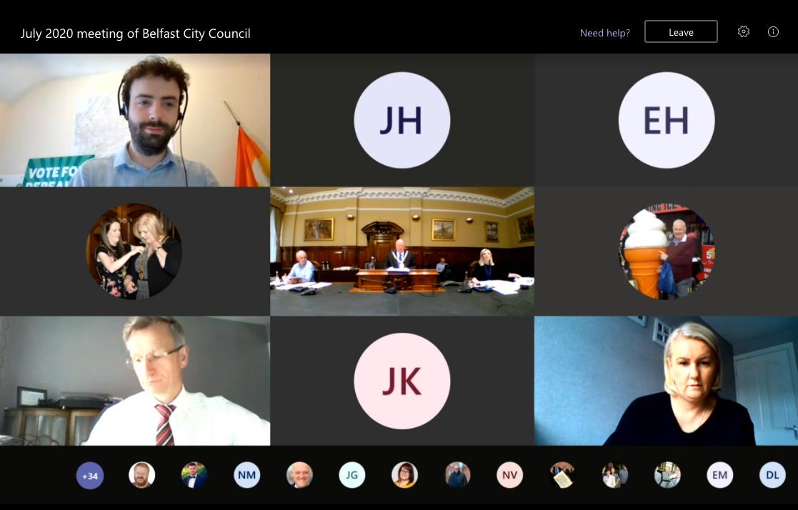 Virtual council